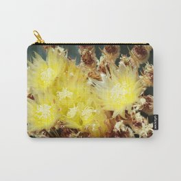 Prickly Pear Flowers Carry-All Pouch