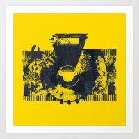 camera Art Prints featuring Camera by Lucas del Río
