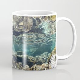 natural underwater background Coffee Mug