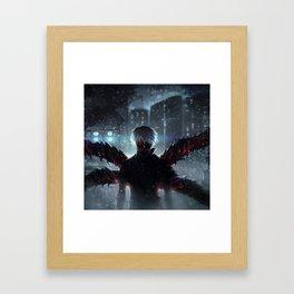 Ken Kaneki Tokyo Ghoul Framed Art Print