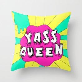 Broad City Yass Queen Throw Pillow