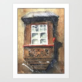 Silesian window Art Print