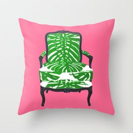 PALM BEACH CHAIR Throw Pillow