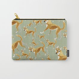 Ginger dingo pattern Carry-All Pouch