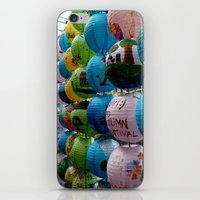 singapore iPhone & iPod Skins featuring Singapore Festival by Irma Rose Photography