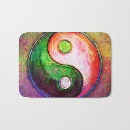 Yin Yang - Colorful Painting VIII Bath Mat