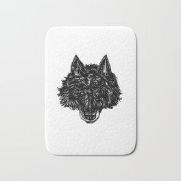 Wolf's Head Bath Mat