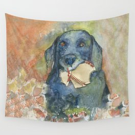 Want to Play Fetch??? Wall Tapestry
