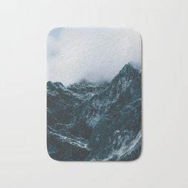 Cloud Mountain - Landscape Photography Bath Mat