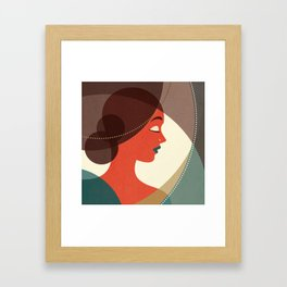 Venn Deco (Part IV) Framed Art Print