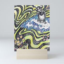 Floating 1/3 Mini Art Print