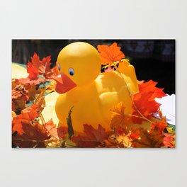 Rubber Ducky Canvas Print