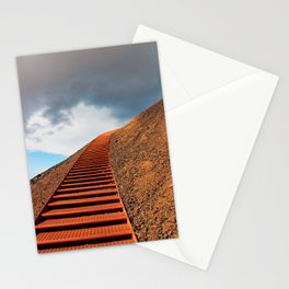 Stairway to Saxholl Crater, Iceland Stationery Cards