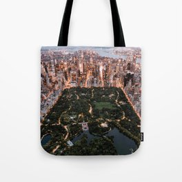 Central Park, New York - Twilight Tote Bag