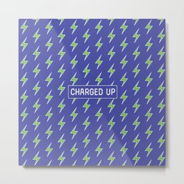 Charged Up Metal Print