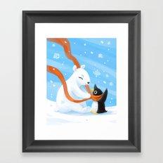 Uncle Bear Framed Art Print