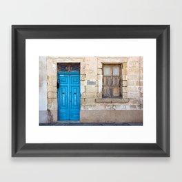 Malta 18 Framed Art Print