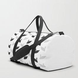 swans motif  Duffle Bag