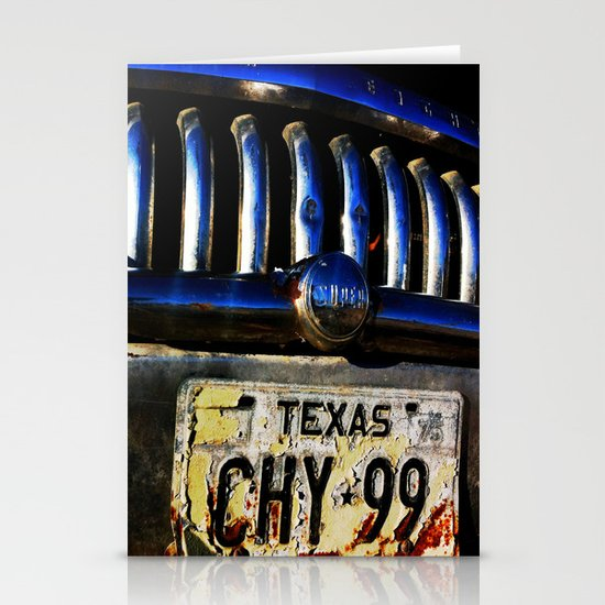 TEXAS PLATE Stationery Cards