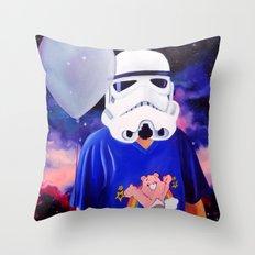 Rainbow Trooper Throw Pillow