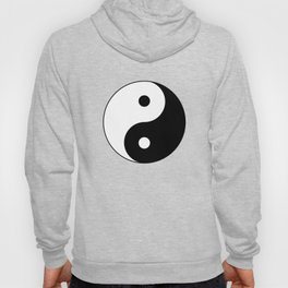Black and White Yian Yang Hoody