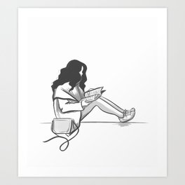 Soul Reading Art Print