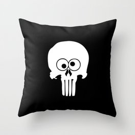The Funisher Throw Pillow