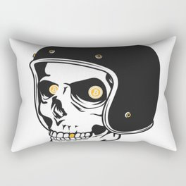 Bitcoin Hell Raiser Rectangular Pillow