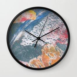 Natural print.  Wall Clock