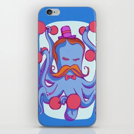 Otto the stronger octopus  iPhone Skin
