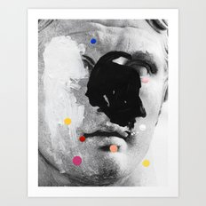 Composition 476 Art Print
