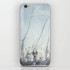 sea plants (light blue) iPhone & iPod Skin