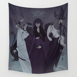 Triple Goddess Wall Tapestry