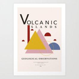 Volcanic Islands Art Print