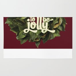 Tis the season to be jolly - holiday quote - christmas - instant download - seasonal - wall decor -  Rug