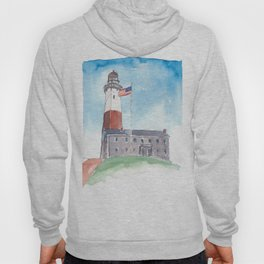 Montauk Lighthouse Long Island New York Hoody