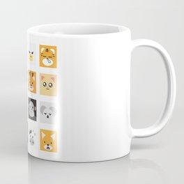 Animal Faces Coffee Mug