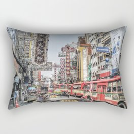 Big Trouble in Chinatown Rectangular Pillow