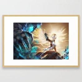 Valkyrie's Last Stand Framed Art Print