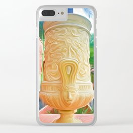 Urn at the Vinoy Clear iPhone Case