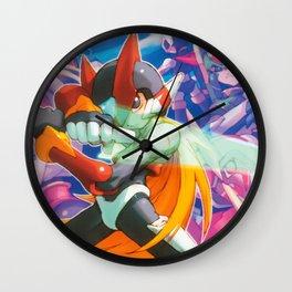 Megaman Zero Girl Wall Clock