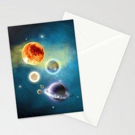 New Solar System Stationery Cards
