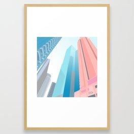 HONG KONG URBANSCAPE S1 Framed Art Print