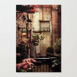 Hidden Alley Canvas Print