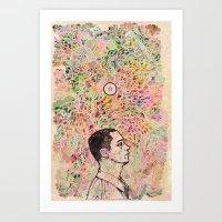 storm Art Prints featuring Storm by C86 | Matt Lyon