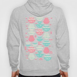 Pink and Turquoise Everything Hoody