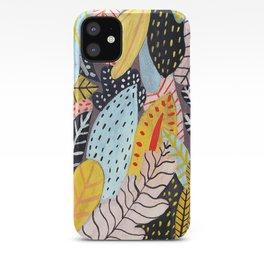 Pastel Jungle iPhone Case