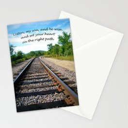 Proverbs 23:19 Stationery Cards