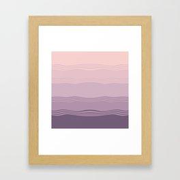 Lavanda fields Framed Art Print