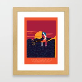 Found In Translation - Aware Framed Art Print